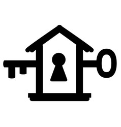 door key symbol vector image