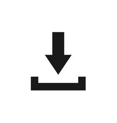 download icon graphic design template vector image