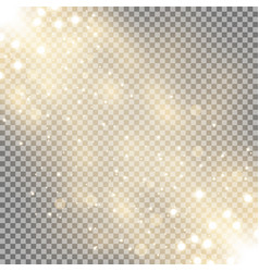 glittering particles background effect vector image
