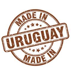Made in uruguay vector