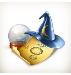 Magician hat vector image vector image