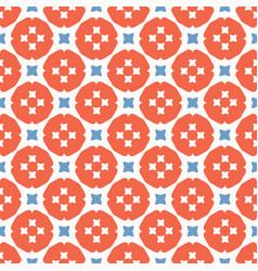 retro gingham polka dots seamless pattern vector image