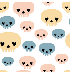witch magic seamless pattern vector image