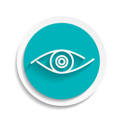 eye icon look human vision symbol vector image