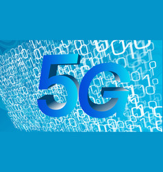 5g frequency computer software conception digital vector