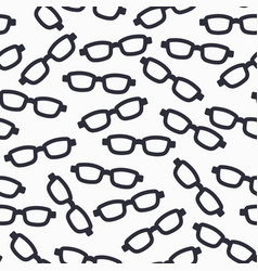 eyeglasses eyes health care seamless pattern vector image