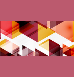 Geometric abstract background mosaic triangle vector