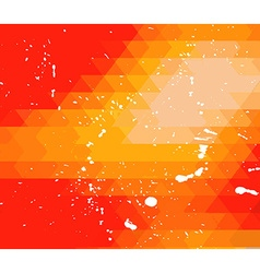 RetroDesign flyer template Abstract background vector image