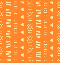 tribal creative seamless pattern vector image