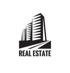 Real Estate - logo concept design vector image vector image