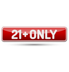 21 only - abstract beautiful button with text vector