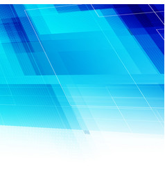 abstract blue light background with polygonal vector image