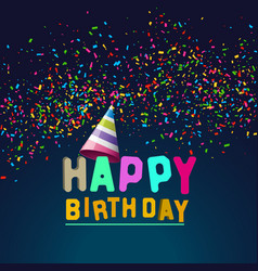 Birthday-card vector