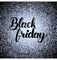 Black Friday Silver Design vector