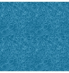 Blue Swirl Pattern vector