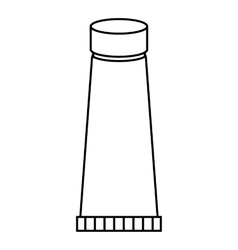 Bottle neck icon outline style vector