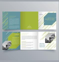 brochure design 862 vector image