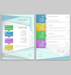 Brochure Flyer design Layout template vector