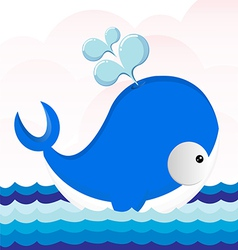 Cute Dolphins vector