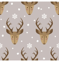 deer background vector image