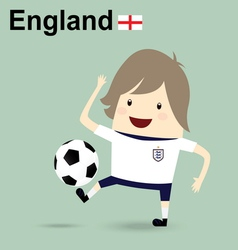 england national football team businessman happy i vector image