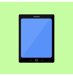 Flat style touch pad vector image