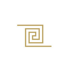 Jewelry luxury fashion business logotype symbol vector