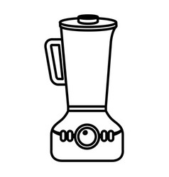 kitchen blender isolated icon vector image