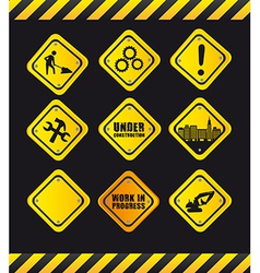 Safety signs vector
