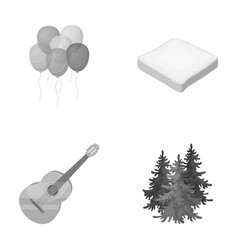 Service cooking and other monochrome icon in vector