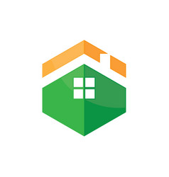 house icon roof logo image vector image vector image
