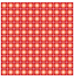 Red dot background vector image vector image