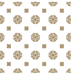 japan kimono inspired seamless pattern in vector image vector image