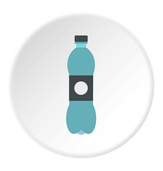 Bottle icon circle vector