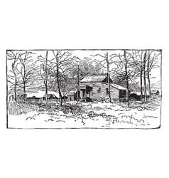 fair oaks vintage vector image