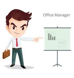Office manager character vector