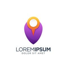 Place logo design vector