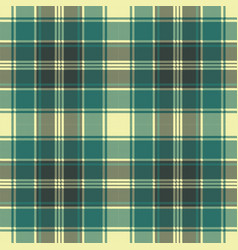 Tartan plaid pixel seamless pattern vector