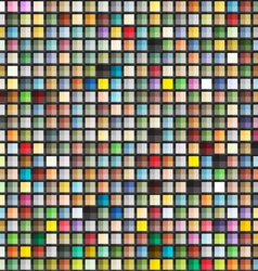 Abstract geometric seamless background of color bl vector image vector image