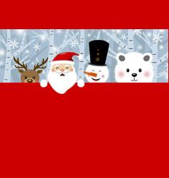 christmas concept design vector image