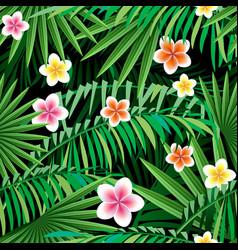 jungle seamless pattern vector image