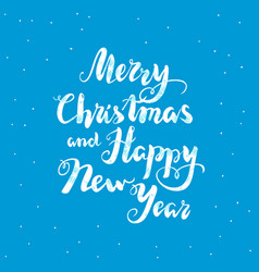 blue new year lettering vector image