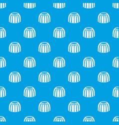 Fruit jelly pattern seamless blue vector