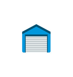 garage icon flat element of vector image
