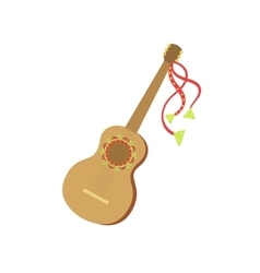 Guitar Mexican Culture Symbol vector image