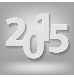 New 2015 year vector