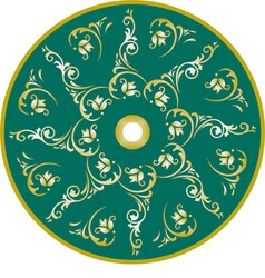 Ottoman design vector