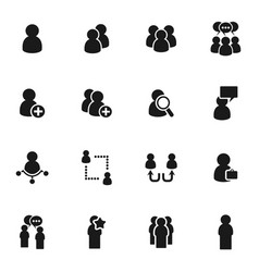 people icon5 vector image
