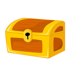 treasure chest isolated vector image