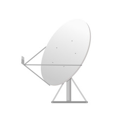 tv equipment satellite dish wireless vector image